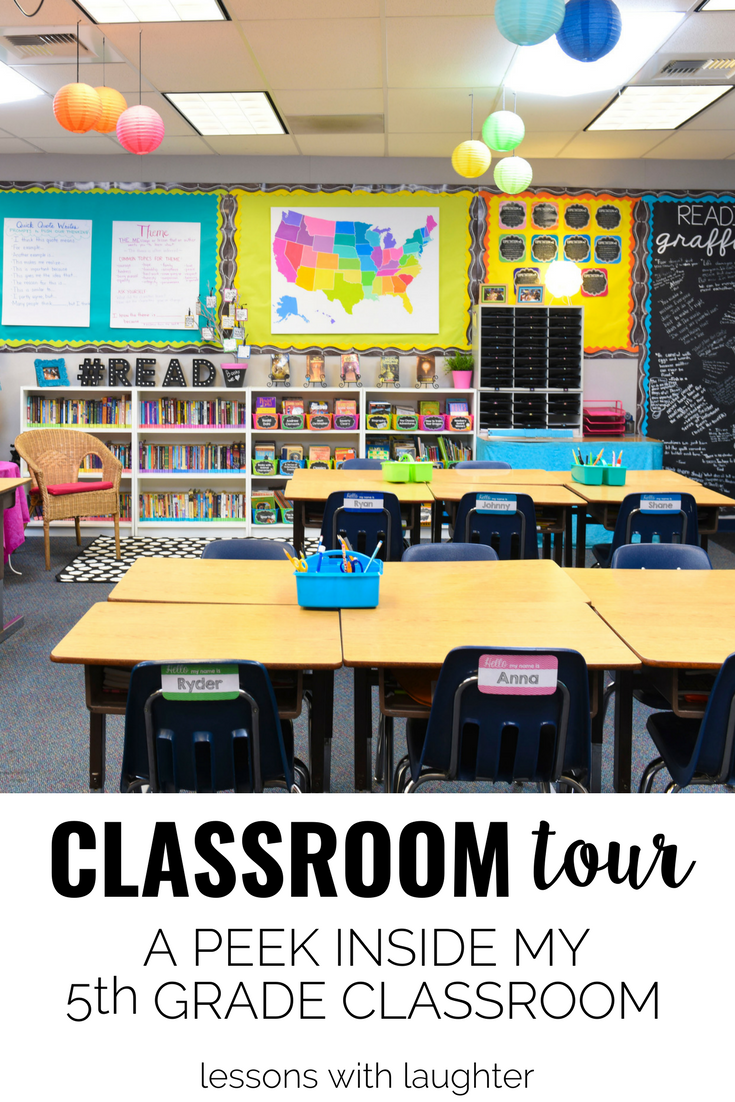 Classroom Tour A Peek Inside My 5th Grade Classroom Lessons With Laughter